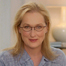 Academy Award®-winning actress Meryl Streep