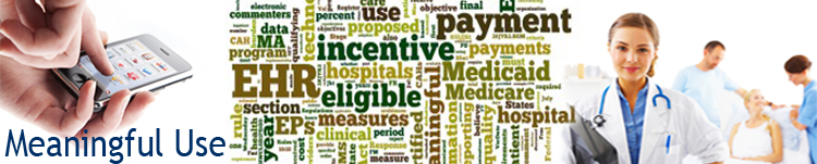 CDC Meaningful Use Banner