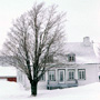 Photo: House surrounded by snow