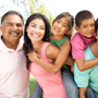 Photo: Extended Latino family smiling