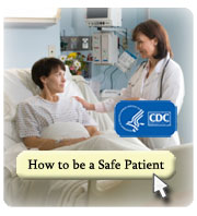 Visit how to be a safe patient