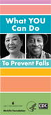Prevent Falls brochure cover image