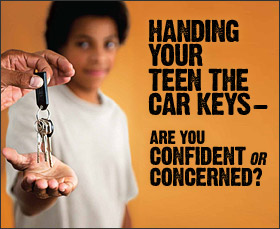 Handing your teen the card keys - are you confident or concerned?