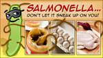 eCard: Salmonella. Don't let it sneak up on you.