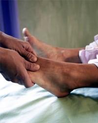 examen de pies