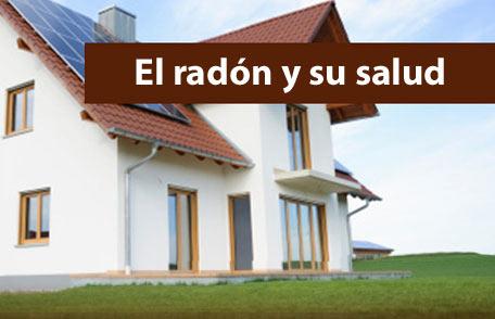 Radón en la casa