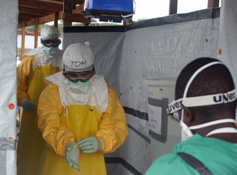 During 2014 CDC responded to the worst Ebola outbreak in history. Here, CDC Director Tom Frieden visits West Africa to assess their needs.