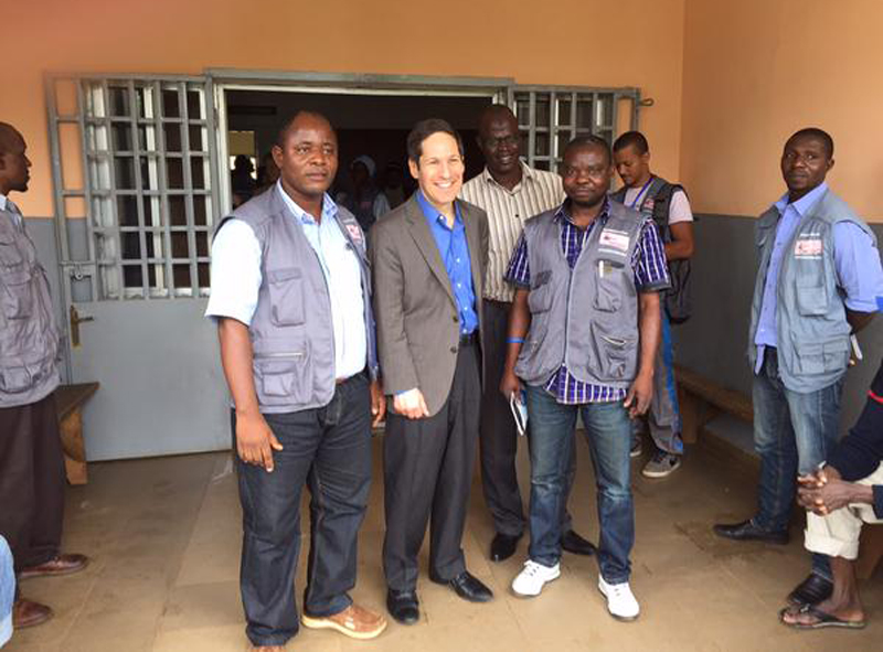 Delighted to review EPI with FETP grads from DRC. United to stop Ebola and protect health.