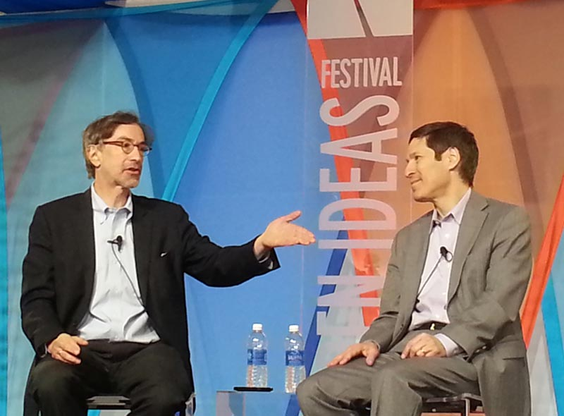 CDC Director Tom Frieden talks with The Atlantic's Corby Kummer about what CDC is doing to protect people and their health at the 2013 Aspen Ideas Festival.