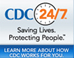 Graphic: CDC 24/7 logo