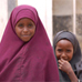 Photo: two girls dressed  in Hijab