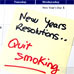 New Years resolution: Quit Smoking