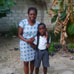 A Haitian mother and child