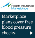 Health Insurance Marketplace - Marketplace plans cover free blood pressure checks.