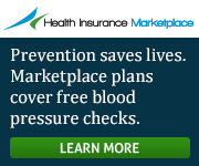 Health Insurance Marketplace - Prevention saves lives. Marketplace plans cover free blood pressure checks. Learn more.