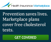 Health Insurance Marketplace - Prevention saves lives. Marketplace plans cover free cholesterol tests. Get covered.