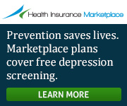 Health Insurance Marketplace - Prevention saves lives. Marketplace plans cover free depression screening. Learn more.