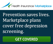 Health Insurance Marketplace - Prevention saves lives. Marketplace plans cover free depression screening. Get covered.