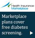 Health Insurance Marketplace - Marketplace plans cover free diabetes screening.