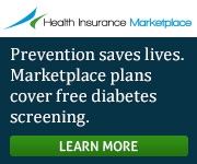 Health Insurance Marketplace - Prevention saves lives. Marketplace plans cover free diabetes screening. Learn more.