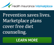 Health Insurance Marketplace - Prevention saves lives. Marketplace plans cover free diet counseling. Get covered.