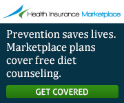 Health Insurance Marketplace - Prevention saves lives. Marketplace plans cover free diet counseling. Learn more.