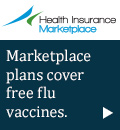 Health Insurance Marketplace - Marketplace plans cover free flu vaccines.