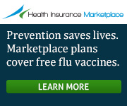 Health Insurance Marketplace - Prevention saves lives. Marketplace plans cover free flu vaccines. Get covered.