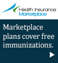 Health Insurance Marketplace - Marketplace plans cover free immunizations.