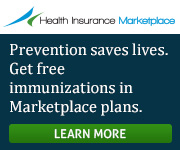 Health Insurance Marketplace - Get free immunizations in Marketplace plans. Learn more!