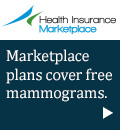 Health Insurance Marketplace - Marketplace plans cover free mammograms.