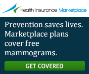 Health Insurance Marketplace - Marketplace plans cover free mammograms. Learn more.