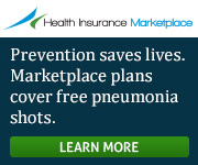 Health Insurance Marketplace - Prevention saves lives. Marketplace plans cover free pneumonia shots. Learn more.