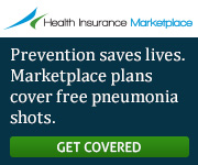 Health Insurance Marketplace - Prevention saves lives. Marketplace plans cover free pneumonia shots. Get covered.