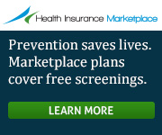 Health Insurance Marketplace - Prevention saves lives. Marketplace plans cover free screenings. Learn more.