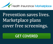 Health Insurance Marketplace - Prevention saves lives. Marketplace plans cover free screenings. Get covered.