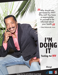 Doing It poster thumbnail - Obba Babatunde