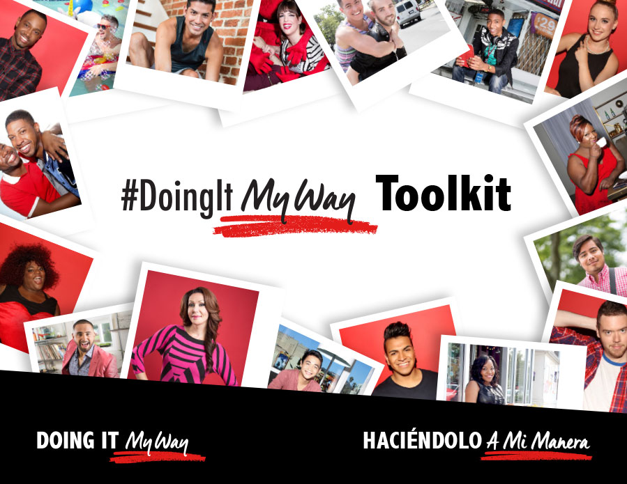 my way doingit campaigns act against aids cdc