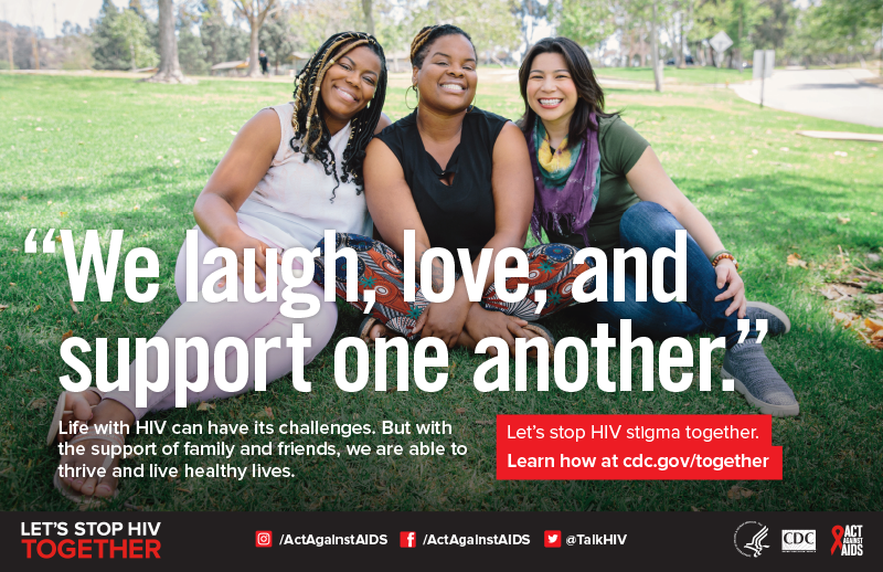 Let's Stop HIV Together poster thumbnail,