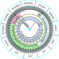 graphic about Pregnancy Wheel Printable identify Train and Service Components A single Check. 2 Life