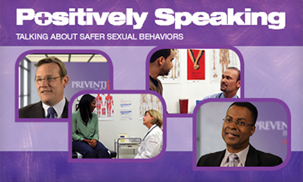 Positively Speaking. Talking about sexual behaviors. Thumbnail of online course.