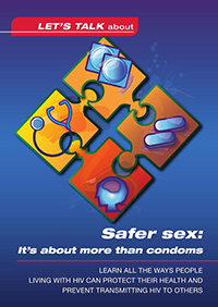 PIC Lets Talk About: Safter Sex brochure thumbnail