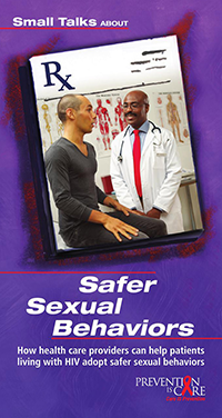 PIC Small Talks About: Safer Sexual Behaviors – Provider Brochure thumbnail