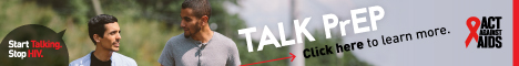 Start Talking. Stop HIV. Talk PrEP Click here to join the conversation about prep. Act Against AIDS. Instagram/Act Against AIDS,Facebook/StartTalkingHIV, Twitter @TalkHIV