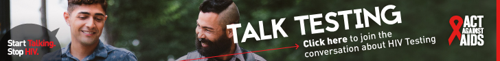 Start Talking. Stop HIV. Talk PrEP Click here to join the conversation about HIV Testing. Act Against AIDS. Instagram/Act Against AIDS, Facebook/StartTalkingHIV, Twitter @TalkHIV