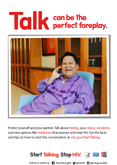 stsh poster, Talk can be the perfect foreplay, version 3