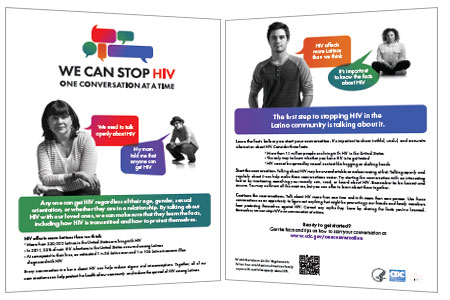 Brochures Campaign Materials We Can Stop Hiv One