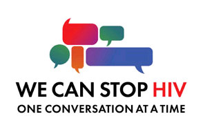 We can stop HIV - One Conversation at a Time - logo image