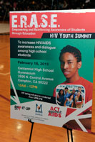 Erase Youth Summit Poster