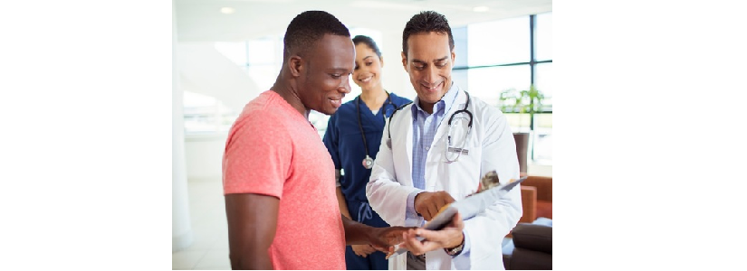 HIV Screening. Standard Care. resources linking African American and Hispanic Patients to Care.